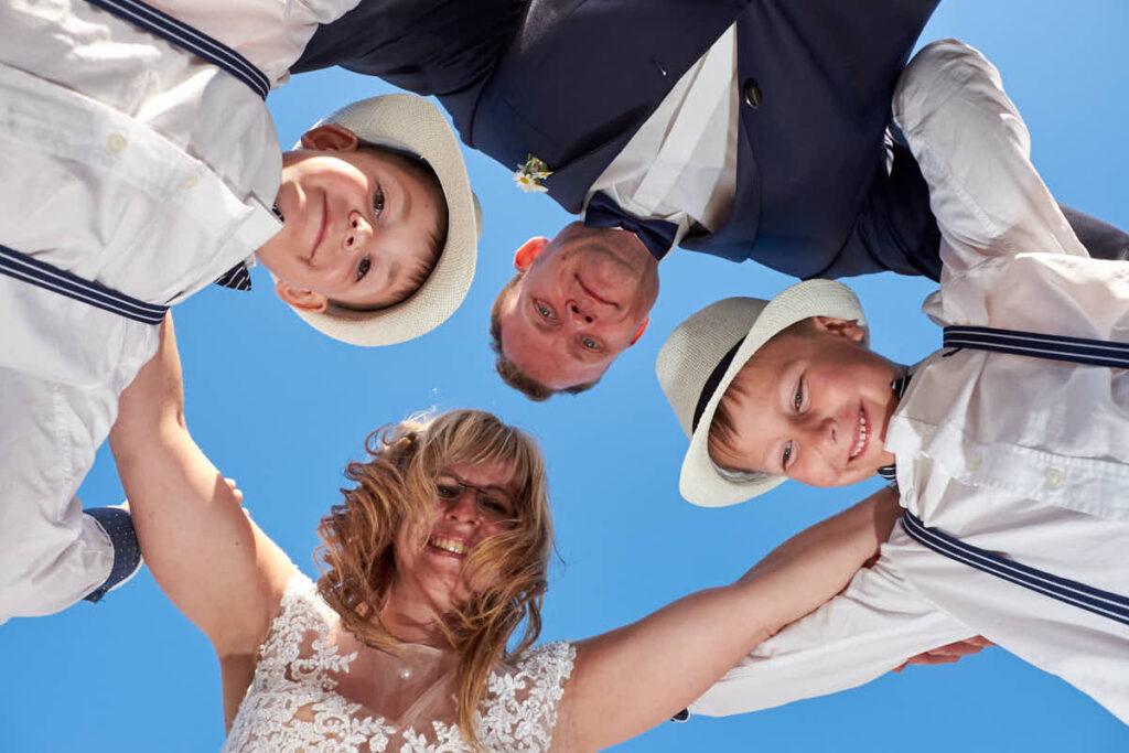 Fotograf Kanaren und Teneriffa fotografiert Familie beim Afterweddingshooting